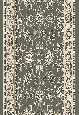 "Radici Pisa 1780 Light Green 2'6"" (30"") Wide Hall and Stair Runner"