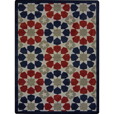 Kaleidoscope Americana Multi Area Rug by Joy Carpets