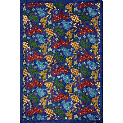 Playful Patterns Animal Crackers Multi Area Rug by Joy Carpets