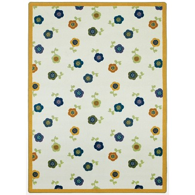 Kid Essentials - Infants & Toddlers Awesome Blossom Bold Area Rug by Joy Carpets