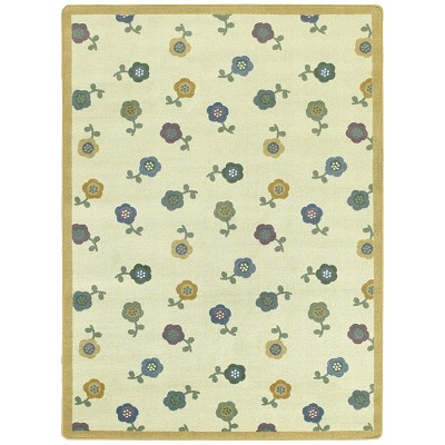 Kid Essentials - Infants & Toddlers Awesome Blossom Soft Area Rug by Joy Carpets