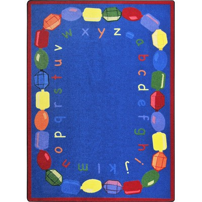 Kid Essentials - Early Childhood Baby Beads Multi Area Rug by Joy Carpets