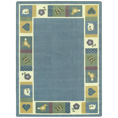 Kid Essentials - Infants & Toddlers Baby Blues Soft Area Rug by Joy Carpets