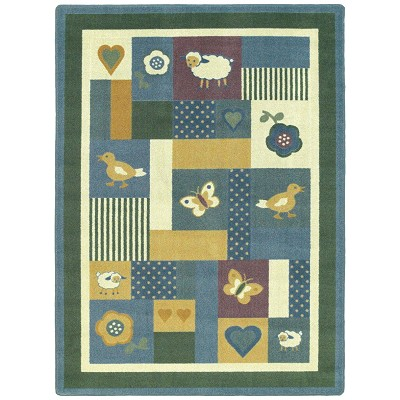 Kid Essentials - Infants & Toddlers Baby Love Soft Area Rug by Joy Carpets