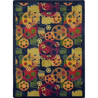 Any Day Matinee Blockbuster Multi Area Rug by Joy Carpets