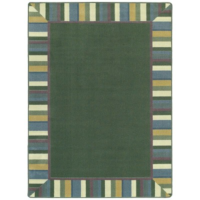 Kid Essentials - Infants & Toddlers Clean Green Soft Area Rug by Joy Carpets
