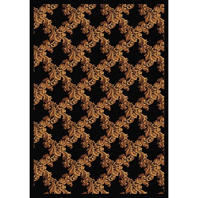 Any Day Matinee Corinth Black Area Rug by Joy Carpets