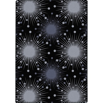 Kaleidoscope Cosmopolitan Silver Area Rug by Joy Carpets