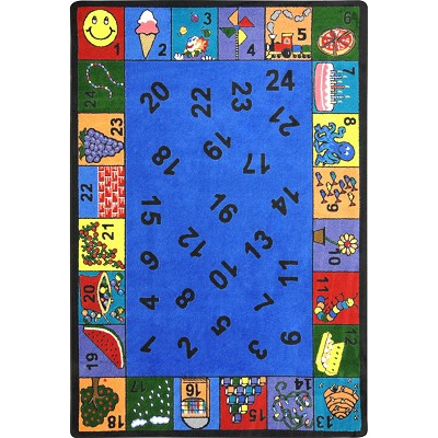 Kid Essentials - Early Childhood Count On Me Multi Area Rug by Joy Carpets