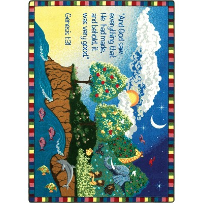 Kid Essentials - Inspirational Creation Multi Area Rug by Joy Carpets