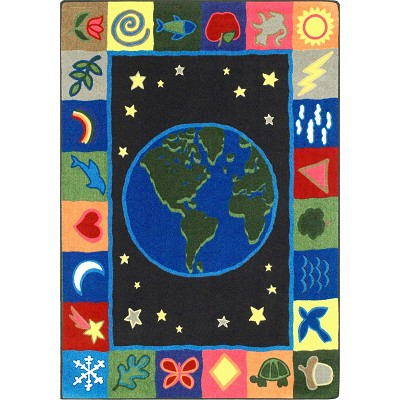 Kid Essentials - Geography & Environment EarthWorks Multi Area Rug by Joy Carpets