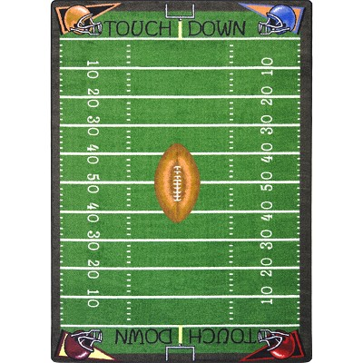 Games People Play Football Fun Multi Area Rug by Joy Carpets