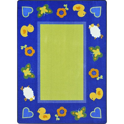 Kid Essentials - Infants & Toddlers Green Space Multi Area Rug by Joy Carpets