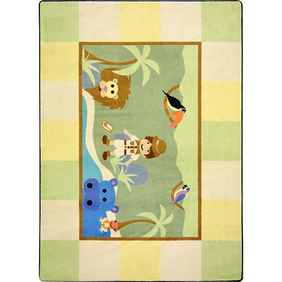 Kid Essentials - Active Play & Juvenile Lil' Explorer Multi Area Rug by Joy Carpets