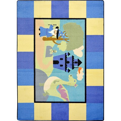 Kid Essentials - Active Play & Juvenile Lil' Wizard Multi Area Rug by Joy Carpets
