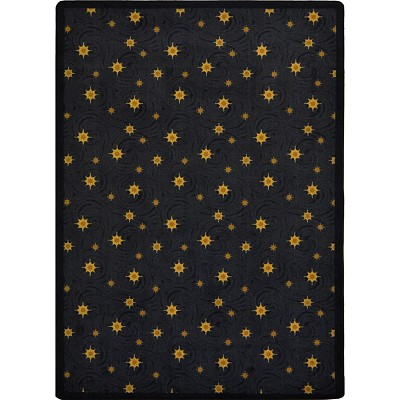 Any Day Matinee Milky Way Charcoal Area Rug by Joy Carpets