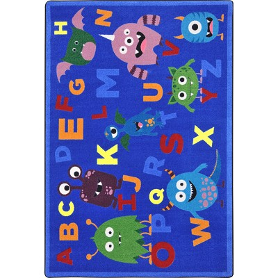 Kid Essentials - Early Childhood Monster Mash Multi Area Rug by Joy Carpets