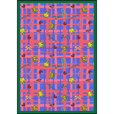 Playful Patterns My Little Princess Blue Area Rug by Joy Carpets