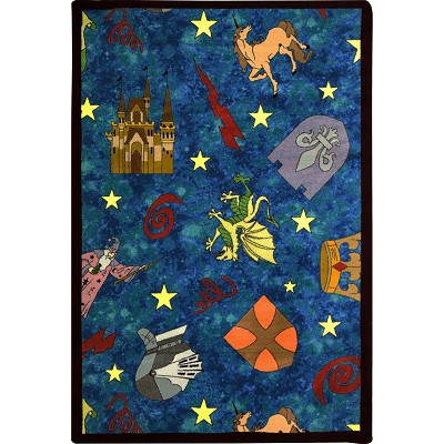 Playful Patterns Mythical Kingdom Multi Area Rug by Joy Carpets
