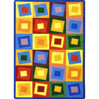 Kid Essentials - Teen Off Balance Brights Area Rug by Joy Carpets
