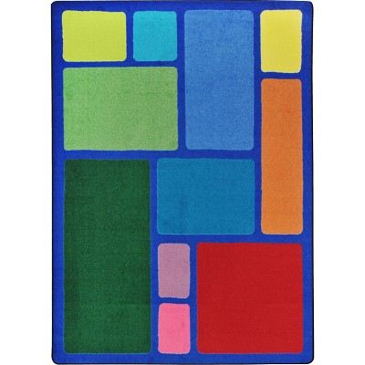 Kid Essentials - Early Childhood Our Block Multi Area Rug by Joy Carpets