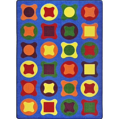 Kid Essentials - Early Childhood Perfect Fit Multi Area Rug by Joy Carpets