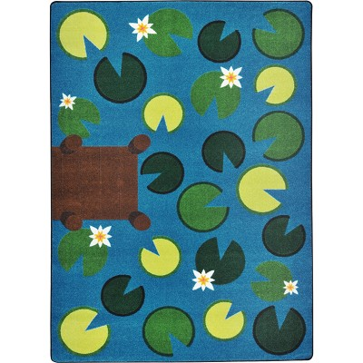 Kid Essentials - Early Childhood Playful Pond Multi Area Rug by Joy Carpets