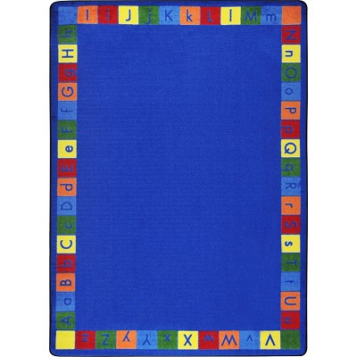 Kid Essentials - Early Childhood Primarily Alphabett Multi Area Rug by Joy Carpets