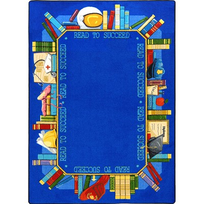 Kid Essentials - Language & Literacy Read to Succeed Multi Area Rug by Joy Carpets