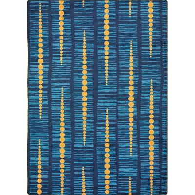 Kid Essentials - Teen Recoil Blue Area Rug by Joy Carpets