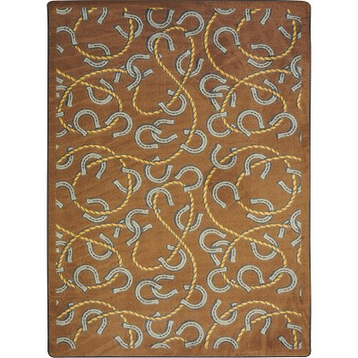 Kaleidoscope Rodeo Chocolate Area Rug by Joy Carpets