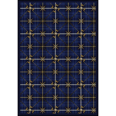 Games People Play Saint Andrews Seaside Blue Area Rug by Joy Carpets