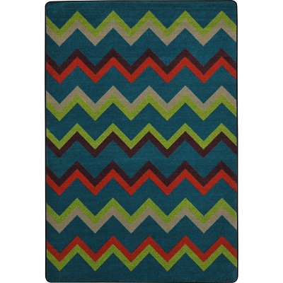 Kid Essentials - Teen Sonic Tropics Area Rug by Joy Carpets