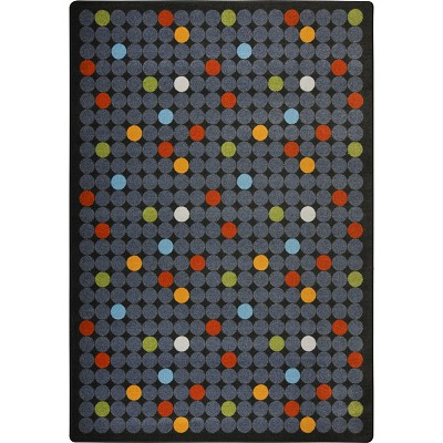 Playful Patterns Spot On Licorice Area Rug by Joy Carpets