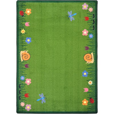 Kid Essentials - Geography & Environment Summer Friends Multi Area Rug by Joy Carpets