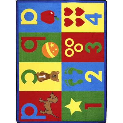 Kid Essentials - Infants & Toddlers Toddler Basics Bold Area Rug by Joy Carpets