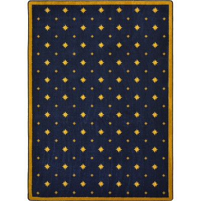Any Day Matinee Walk of Fame Navy Area Rug by Joy Carpets