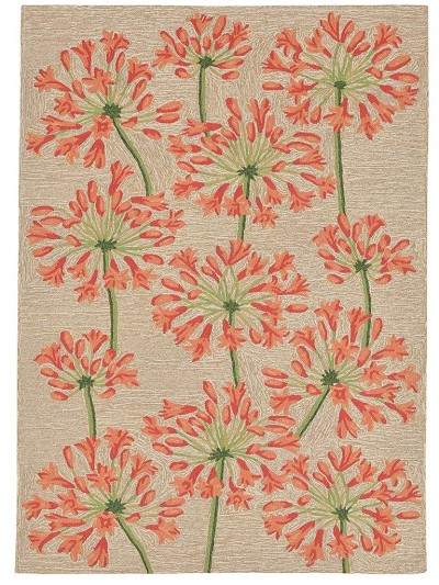 Liora Manne Ravella 2273/17 Desert Lily Apricot Area Rug