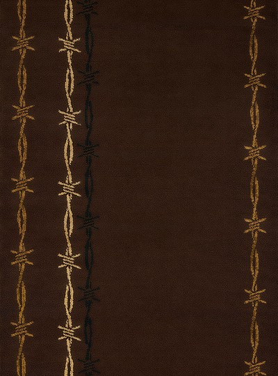 United Weavers Affinity 750 46050 Barb Wire Brown Area Rug