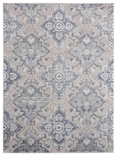 United Weavers Cascades 2601 10560 Leavenworth Blue Area Rug