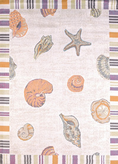United Weavers Regional Concepts 541 50717 Sand And Shells Natural Area Rug
