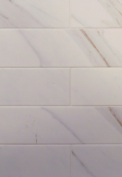Classique White Calacatta X Ceramic Wall Tile Carpetmartcom - 16 x 16 white ceramic floor tile