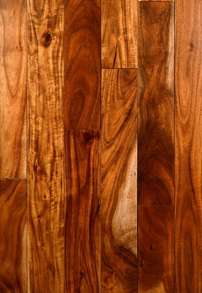 Alexandria Small Leaf Natural Acacia Hardwood Flooring