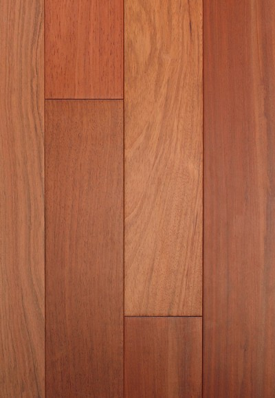 "Nubrisa Elegant Exotic Natural 3/4"" X 5"" Brazilian Cherry Hardwood Flooring"