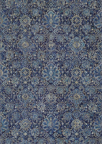 Easton 6335/3151 Winslet Navy/Sapphire Area Rug by Couristan