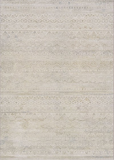 Easton 6822/6575 Capella Ivory/Light Grey Area Rug by Couristan
