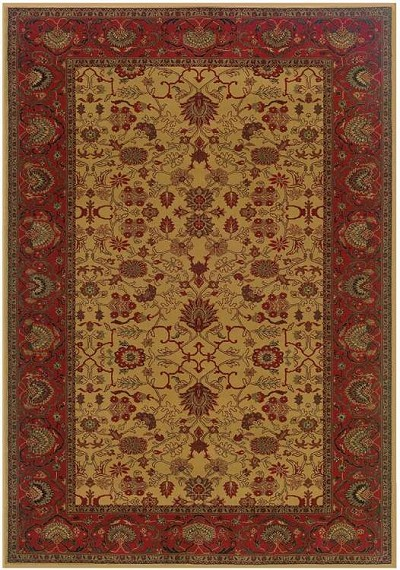 Everest 3773/4874 Tabriz Harvest Gold Area Rug by Couristan