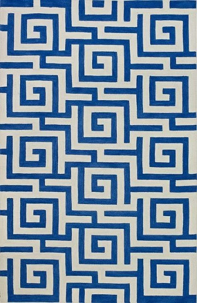 Infinity IF1 Cobalt Area Rug by Dalyn