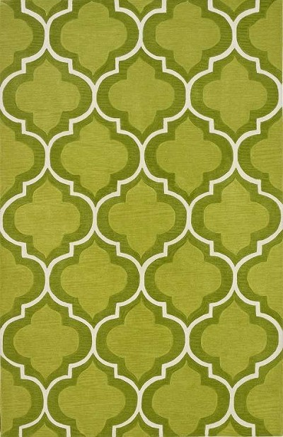 Infinity IF3 Lime Area Rug by Dalyn