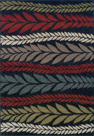 Marcello MO102 Black Area Rug by Dalyn